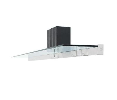 Pioneer R03 Wall shelf with hooks by Ghyczy