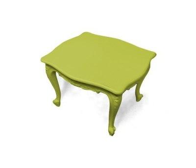Plastic Fantastic salon table by JSPR
