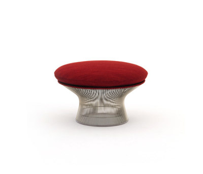 Platner Ottoman by Knoll International