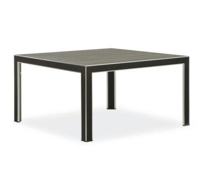 Plaza table by Varaschin