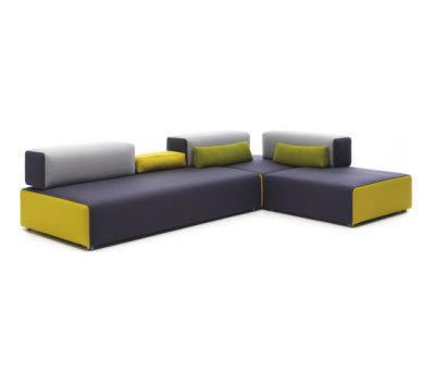 Ponton Corner sofa by Leolux