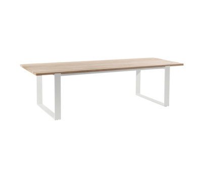 Prato Rectangular dining tables by Manutti