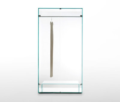 Prism Glass Closet by Glas Italia