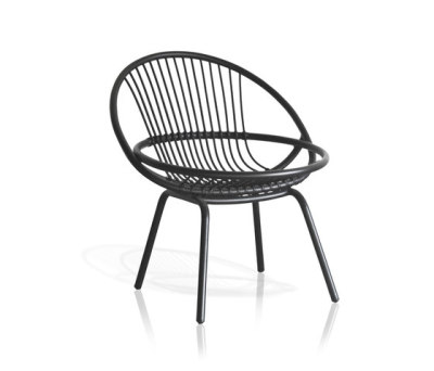Radial outdoor Armchair by Expormim