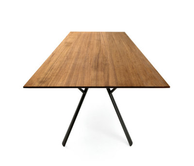 Radice Quadra table rectangular by Fast