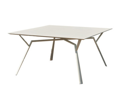 Radice Quadra table square by Fast