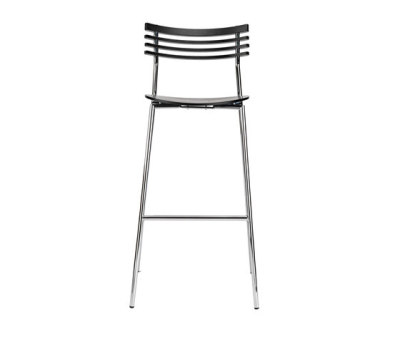 Rail bar stool by Randers+Radius