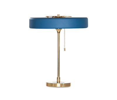 Revolve Table Petrol Blue by Bert Frank