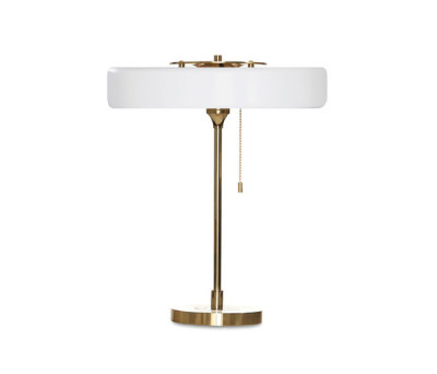 Revolve Table White by Bert Frank