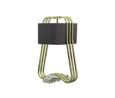 Rococo Curve Table Lamp by Martin Huxford Studio