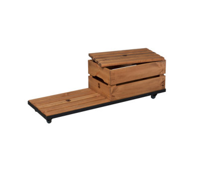 ROLL FRAME FOR CRATES by Noodles Noodles & Noodles Corp.