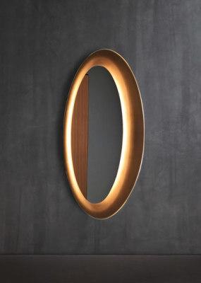 Saturno Wall mirror by Flou
