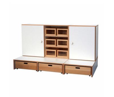 Shelf Combination DBF-652-3-10 by De Breuyn