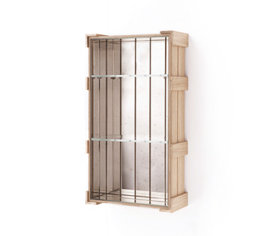 Shelf Crate 23. by Antique Mirror