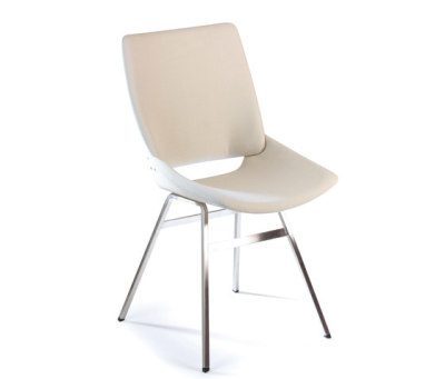 Shell Dining Chair Full Textile by Rex Kralj