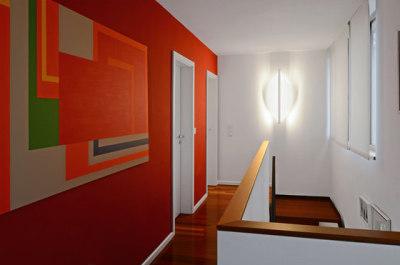 Shield ceiling & wall - eye shape by Millelumen