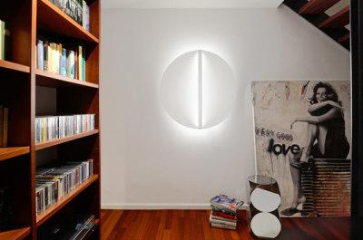 Shield ceiling & wall - round shape by Millelumen