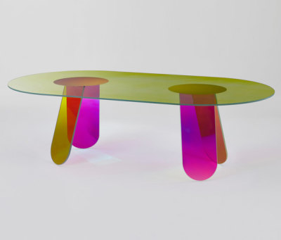Shimmer dining by Glas Italia