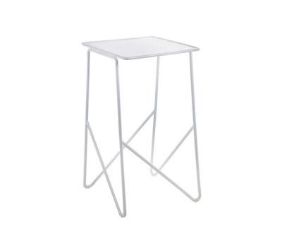 Side Table medium white by Serax