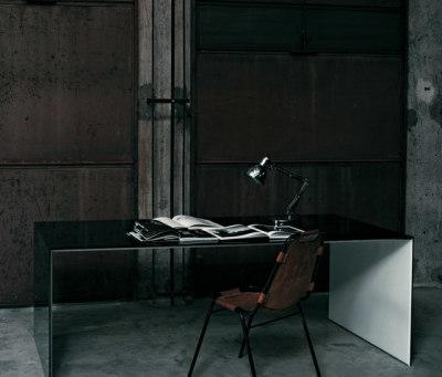 Sio2 Bridge Table by Glas Italia