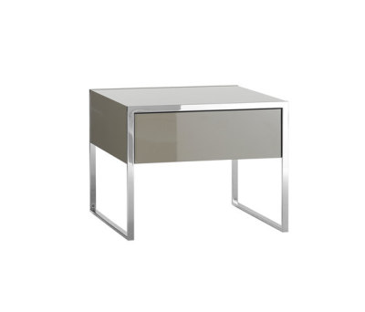 Smart bedside table by Yomei