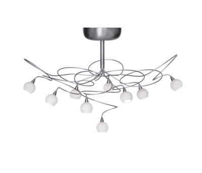Snowball ceiling light 9 by HARCO LOOR