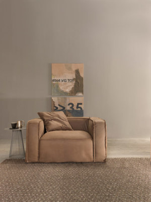 Softly armchair by My home collection