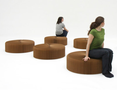 softseating   natural brown paper softseating by molo