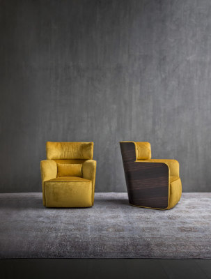 Softwing Armchair by Flou
