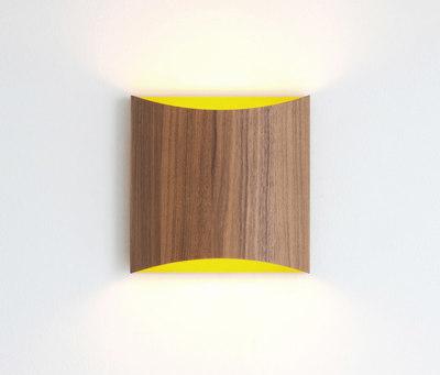 Sophie wall walnut yellow by lasfera