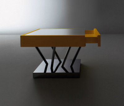 Sottsass | Low table SA 04 by Laurameroni