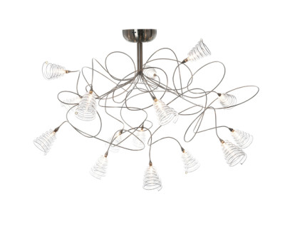 Spiral ceiling light 15 by HARCO LOOR