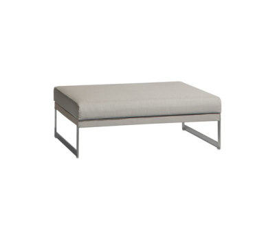 Squat medium footstool/sidetable by Manutti