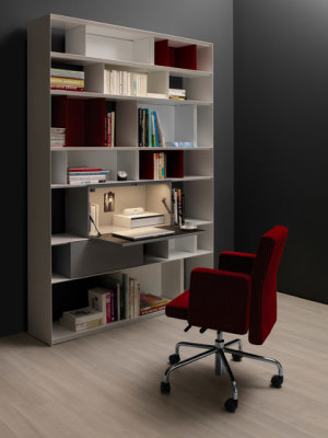 Stack Desk-Element by Müller Möbelfabrikation