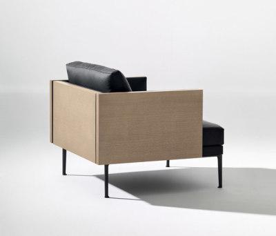 Steeve armchair by Arper