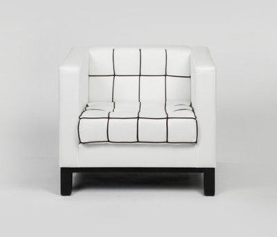 Stella Quadra armchair by Lambert