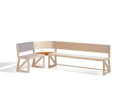Stijl cornerbench by Lampert