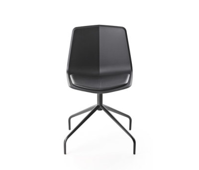 Stratos trestle swivel chair by Maxdesign