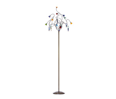 Strawberry floor lamp 9-multicolor by HARCO LOOR