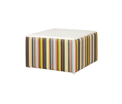 Stripe ottoman vertical by Mamagreen