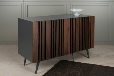 Striped Walnut Buffet by Gotwob