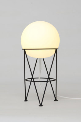 Structure and Globe Desk Light by Atelier Areti