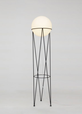 Structure and Globe Floor Light by Atelier Areti