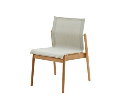 Sway Teak Stacking Chair by Gloster Furniture