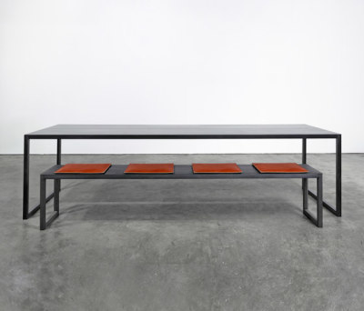 Table and Bench on_01 by Silvio Rohrmoser