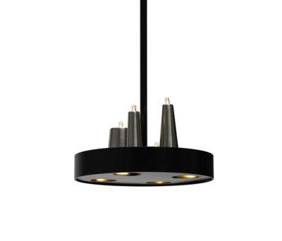 Table d'Amis hanging lamp round by Brand van Egmond