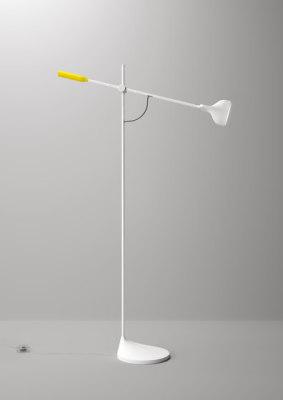 Tail Floor lamp by FontanaArte