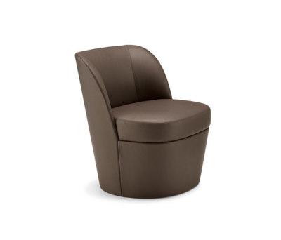 Tam Tam lounge armchair mono | bi-material by Frag