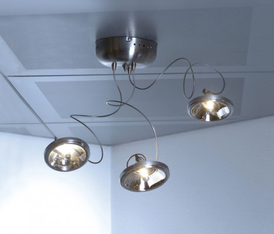 Target ceiling light 3 by HARCO LOOR