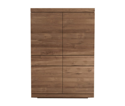Teak Burger storage cupboard by Ethnicraft